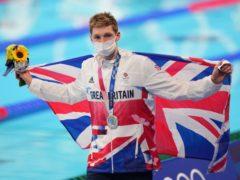 Duncan Scott made British history on Sunday morning (Joe Giddens/PA)