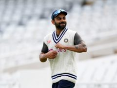 Virat Kohli's India celebrated a 3-1 series win on home turf earlier this year (Zac Goodwin/PA)