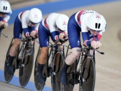 Great Britain claimed silver in the women's team pursuit (Danny Lawson/PA)