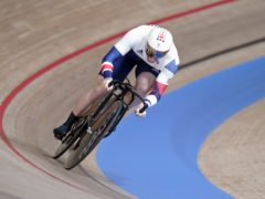 Great Britain's Jason Kenny in action in men's sprint qualifying (Danny Lawson/PA Images).