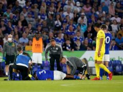 Wesley Fofana was injured against Villareal (David Davies/PA)