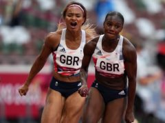 Great Britain's Dina Asher-Smith returned for the 4x100m relay (Joe Giddens/PA)