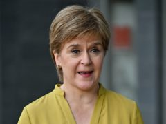 First Minister Nicola Stugeon during her visit to Scottish Power in Cumbernauld (Andrew Milligan/PA)