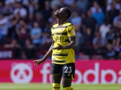 Ismaila Sarr scored and provided an assist on his return to the Premier League in Watford's victory over Aston Villa (Jonathan Brady/PA)