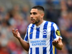 Brighton striker Neal Maupay has been linked with Everton following some good early-season scoring form (Anthony Devlin/PA)