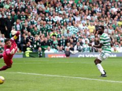 Odsonne Edouard's opener sent Celtic on their way to the quarter-finals (Steve Welsh/PA)