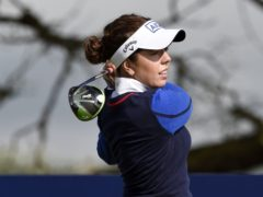 England's Georgia Hall is chasing a second AIG Women's Open title at Carnoustie (Ian Rutherford/PA)