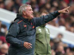 Steve Bruce's side face Burnley on Wednesday night (David Davies/PA)