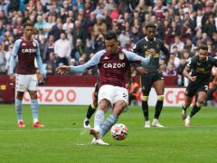 Anwar El Ghazi scored Aston Villa's second with a penalty in their 2-0 win over Newcastle (David Davies/PA)