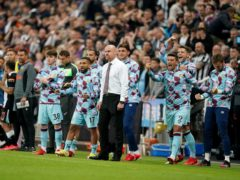 Sean Dyche's side advanced to the next round (Owen Humphreys/PA)