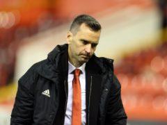 Aberdeen manager Stephen Glass after their Europan exit (Steve Welsh/PA)