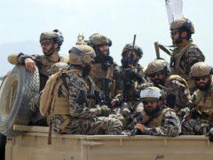 Taliban special forces fighters (Khwaja Tawfiq Sediqi/AP)