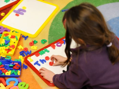 The findings come from the Children's Health in Care in Scotland study (Dominic Lipinski/PA)