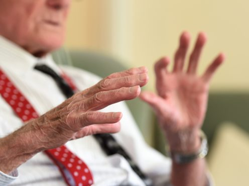 Care home residents will be able to name a person who can visit even when there is a coronavirus outbreak on site (Joe Giddens/PA)