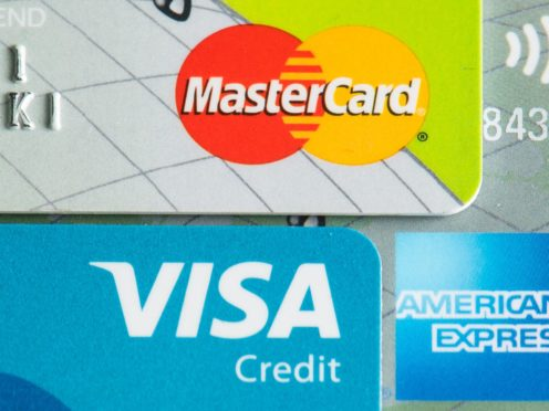 Some borrowers may find they now have a better chance of finding a credit card or a personal loan that they will be accepted for than at the start of the year, Experian said (Dominic Lipinski/PA)