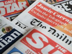 What the papers say – September 8 (Peter Byrne/PA)