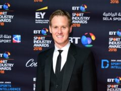 Strictly Come Dancing star Dan Walker revealed he was taken to A&E after bumping his head (Ian West/PA)