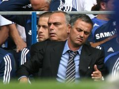 Chelsea manager Jose Mourinho left the club for the first time in September 2007 (PA)