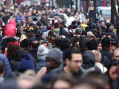 A crowd of people (Isabel Infantes/PA)