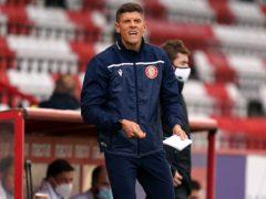 Alex Revell felt an early goal proved costly (John Walton/PA)