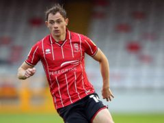 Lincoln City�s Theo Archibald during the Sky Bet League One match at the LNER Stadium, Lincoln.