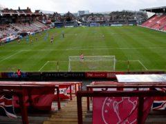 Exeter beat Sutton at St James Park (Simon Galloway/PA)
