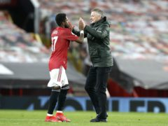 Ole Gunnar Solskjaer faces the prospect of being without Fred this weekend (Phil Noble/PA)