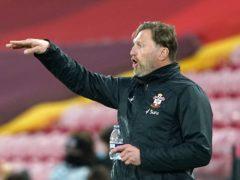 Southampton manager Ralph Hasenhuttl wants to see defensive improvement (Zac Goodwin/PA)