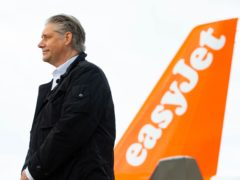 Easyjet CEO Johan Lundgren called for an end to the testing of vaccinated travellers from low-risk countries (PA)