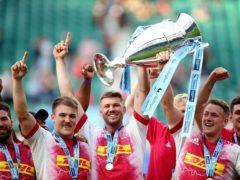 Harlequins won the 2021 Premiership title (Nigel French/PA)