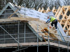 The IHS Markit/CIPS UK Construction Purchasing Managers' Index gave the sector a score of 55.2 last month (PA)