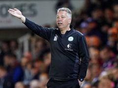 Peterborough manager Darren Ferguson marked his milestone match with a fine win over Birmingham (Joe Giddens/PA)