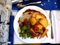 A traditional Christmas turkey dinner (David Davies/PA)