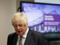 Prime Minister Boris Johnson has condemned the racist abuse directed at England players in Budapest (Adrian Dennis/PA)