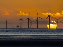 SSE is a major builder of offshore wind farms (Peter Byrne/PA)