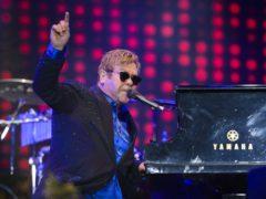 Sir Elton John performing at Radio 2 Live in Hyde Park, in Hyde Park, London (Matt Crossick/PA)