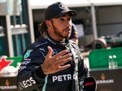 Lewis Hamilton qualified second for the Dutch Grand Prix (Francisco Seco/AP)