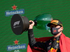 Max Verstappen delighted the home crowd at the Dutch Grand Prix (Francisco Seco/AP)