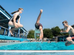 Almost 2,000 swimming pools in England could be lost by the end of the decade without urgent Government and local authority action, a new report has warned (Danny Lawson/PA)