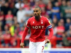 Lewis Grabban set Nottingham Forest on their way to victory (Nigel French/PA)