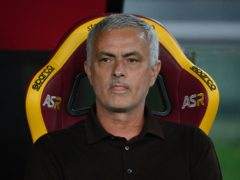 Roma boss Jose Mourinho got a dramatic victory in his 1,000th game (Alfredo Falcone/AP)