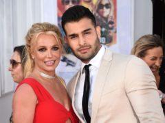 Britney Spears joked Sam Asghari's proposal was 'way overdue' (Jordan Strauss/Invision/AP/PA)