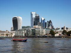 London stocks slipped back on Monday (Jonathan Brady/PA)