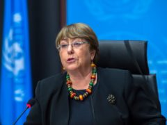UN High Commissioner for Human Rights Michelle Bachelet (Martial Trezzini/Keystone via AP)