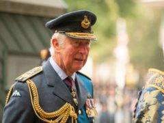 The Prince of Wales, arriving to attend a service of Thanksgiving and Rededication to commemorate the 81st Anniversary of the Battle of Britain at Westminster Abbey, London. Picture date: Sunday September 19, 2021.