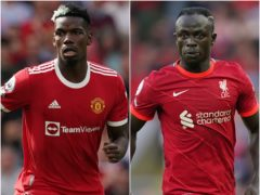 Paul Pogba and Sadio Mane's respective futures are under the spotlight (Martin Rickett/ Mike Egerton/ PA)
