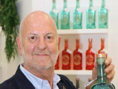 Russell Evans of Norwich-based gin maker Bullards. (Bullards/ PA)
