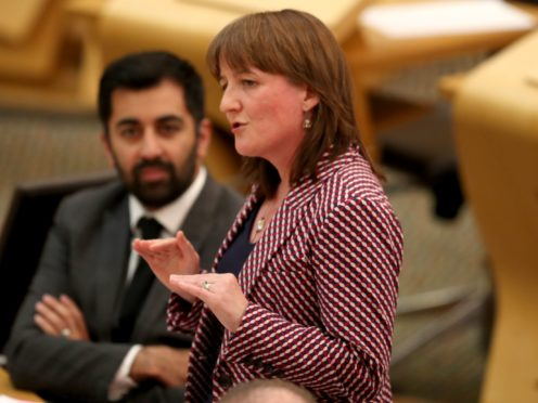 Public health minister Maree Todd announced a review of 200,000 women's health records (Jane Barlow/PA)
