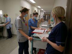 Nursing vacancies are at record levels, the RCN Scotland has said (Andrew Milligan/PA)