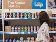 The introduction of Loop in Tesco stores follows a yearlong online pilot (Tesco/PA)